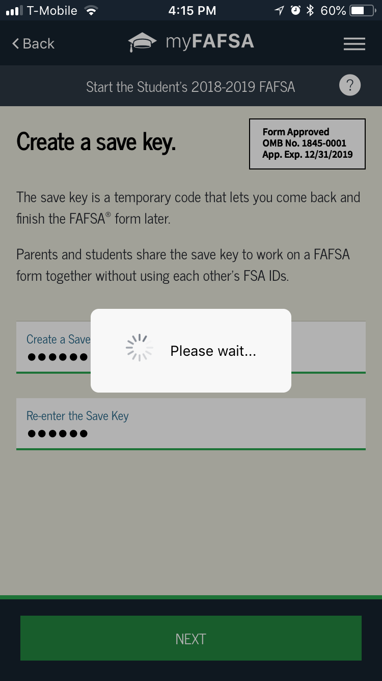 The FAFSA App Picture