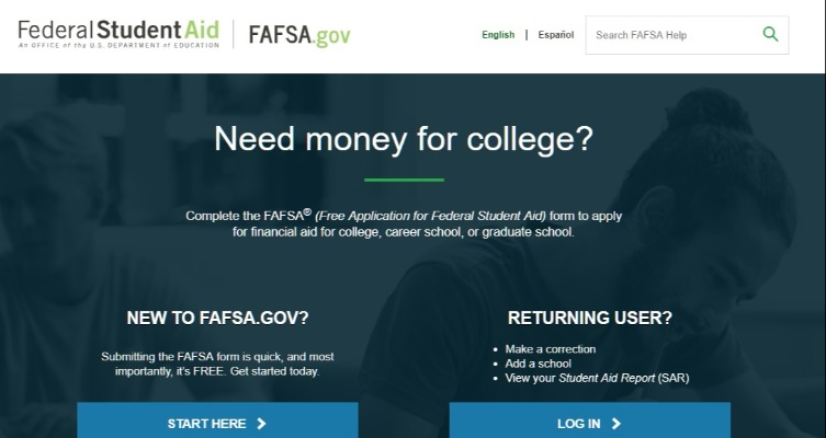The FAFSA Page Picture